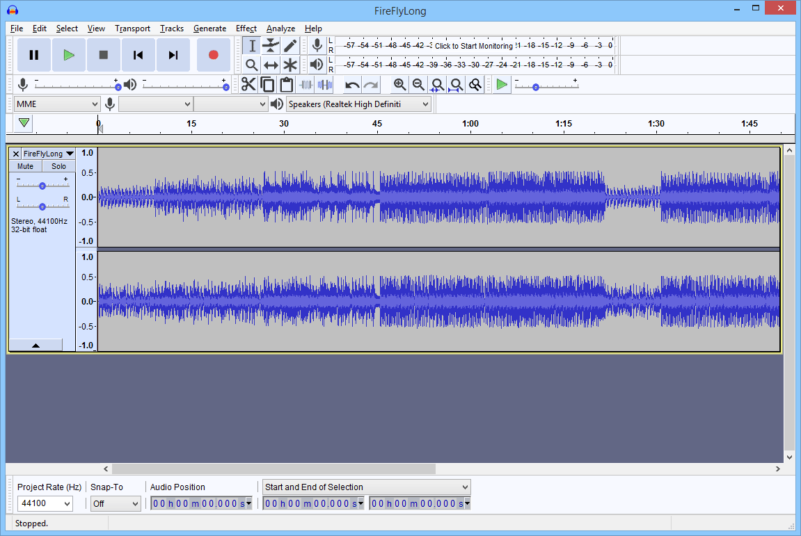 Audacity Free Download Link - Free Sound Recording and Editing Software