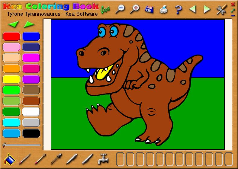 Kea Coloring Book Screenshot Picture