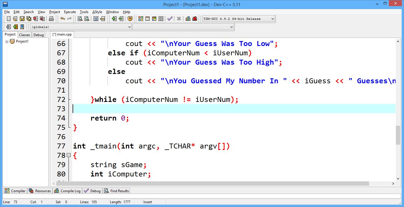 BloodShed Dev-C++ Free Download Link - Free GNU C++ GCC