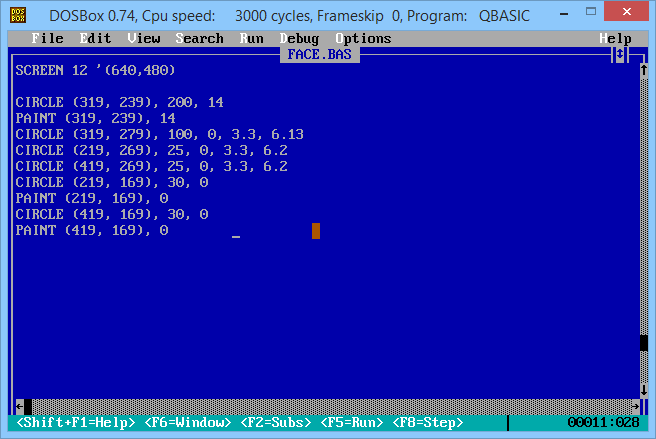QBasic Free Download Link - ( OldDos exe ) QBasic 1 1 Simple to