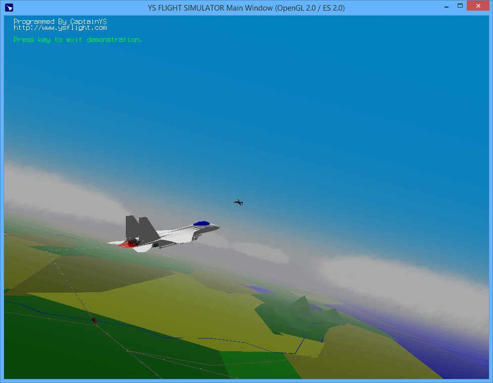 YSFlight Free Download Link - Free Flight Simulator for Windows Mac